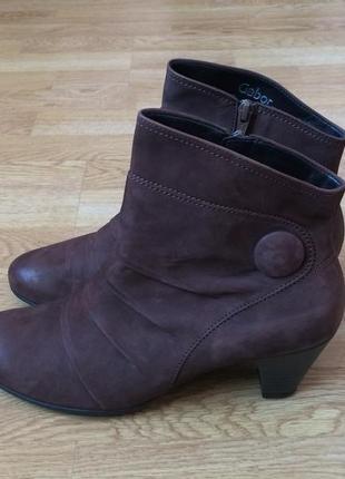 Кожаные ботинки gabor германия 41 размера в состоянии новых