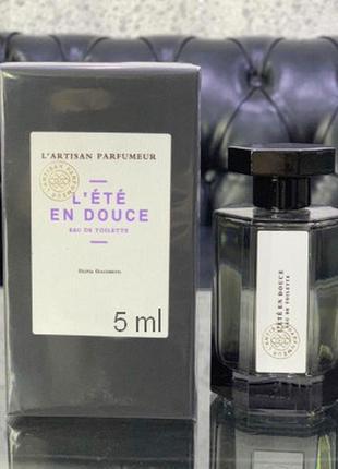 L`artisan Parfumeur L`ete en Douce_Оригинал EDP_5 мл затест