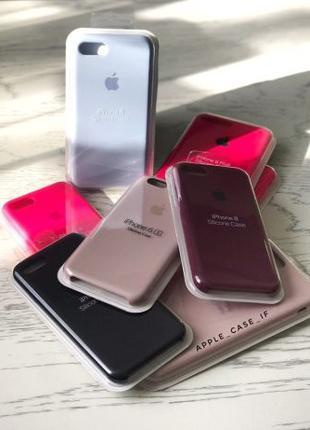 Apple Silicon Case 6/6s ( чохли для моделі 6/6s)