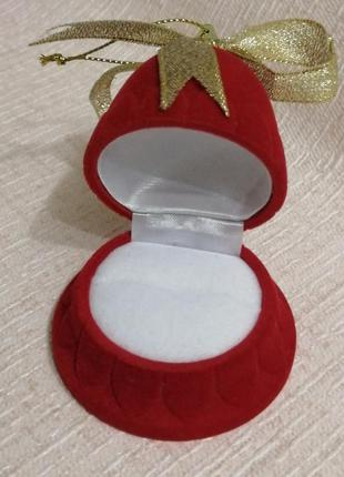 Коробочка для украшений шкатулка