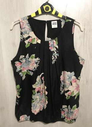 Блузка-майка (цветы)