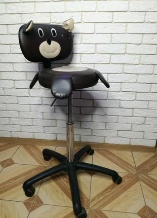 """Крісло перукарське дитяче """"Ведмідь"""""""