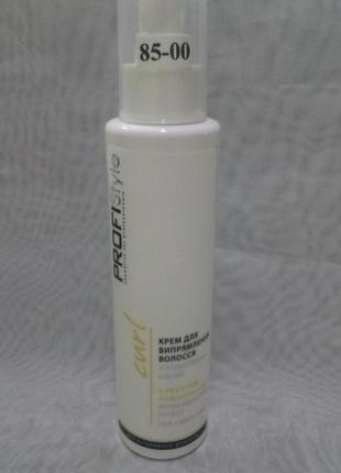 Крем для выпрямления волос с эффектом ламинирования profi styl...