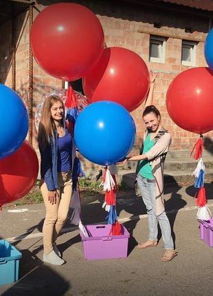 Воздушные шары гелиевые, фольгированные, большие и маленькие