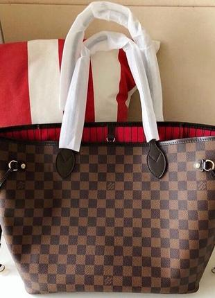 Отличная сумка шоппер louis vuitton