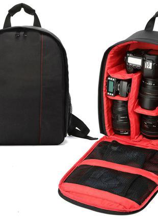 Рюкзак для фотоаппарата Tigernu CB1 красный