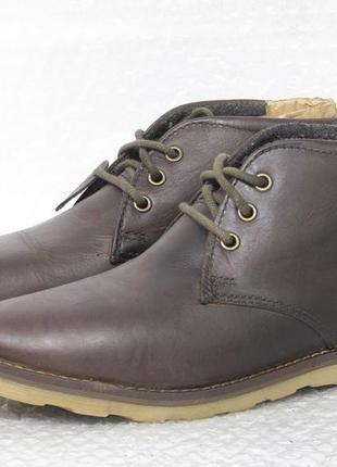 Ботинки мужские кожаные easy  размер 39 стелька 25,5 см