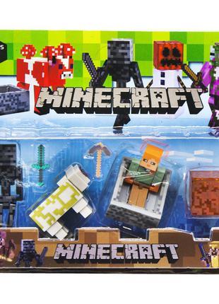 Герои Minecraft вид 3