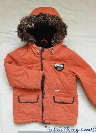 Фирменная george стильная куртка на осень-весну на мальчика 4-...
