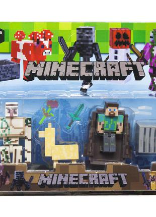 Герои Minecraft вид 6