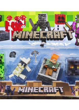 Герои Minecraft вид 4