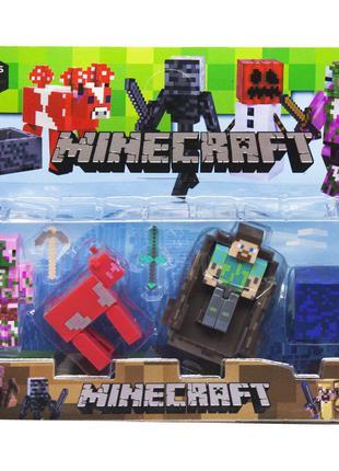 Герои Minecraft вид 1