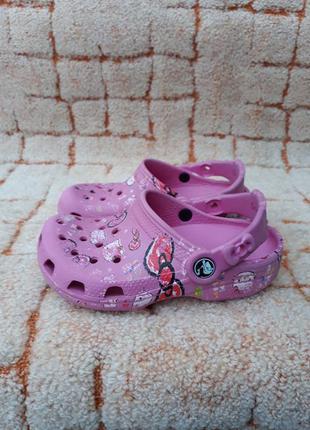 Сланцы crocs