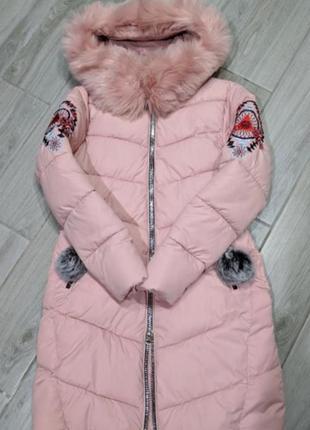 Пуховик куртка пальто парка дутик зима