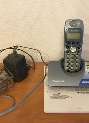 Радиотелефон panasonic kx tcd460ua