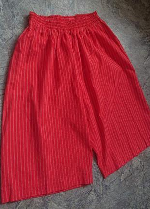 Хлопковые шорты# кюлоты.