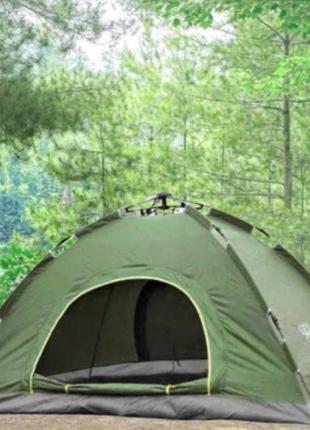 Палатка автомат 4х местная палатка автоматическая походная кем...