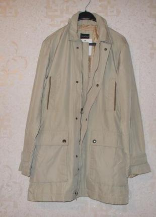 Новая бежевая демисезонная куртка/курточка/осенняя ветровка р....
