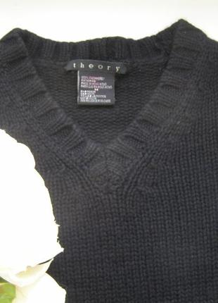 Theory 100% кашемировый пуловер s-m размер. оригинал