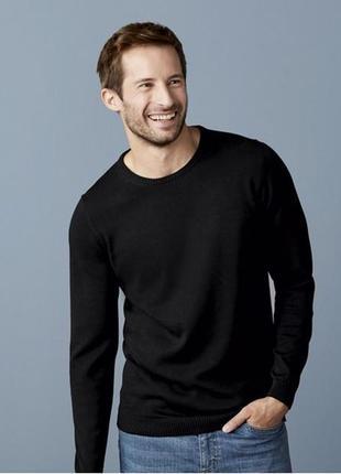 Стильный котоновый свитер хл