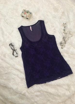 Фиолетовая блуза fb sister {new yorker}