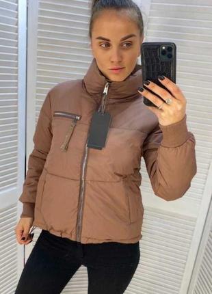 Куртка базовая с плащевки