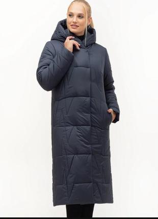 Женская куртка пальто до 56 размера