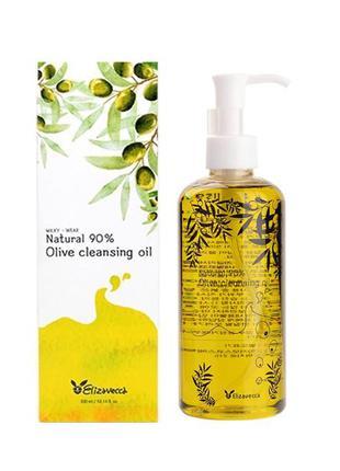 Масло Гидрофильное Elizavecca Olive 90% Cleansing Oil, 300 мл