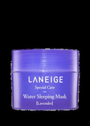 Восстанавливающая ночная маска с лавандой Laneige Water Sleepi...