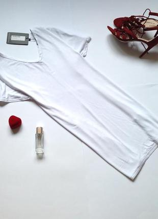 Белое платье футболка длинная белая футболка prettylittlething