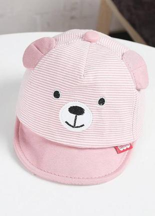 Кепка bear рожева 4015