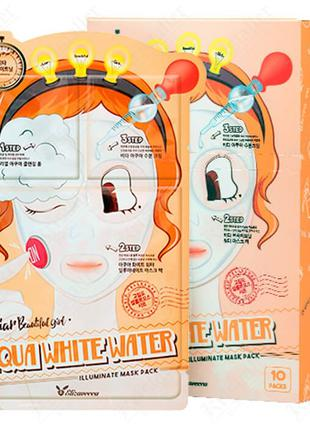 Трёхступенчатая увлажняющая тканевая маска для лица Elizavecca...