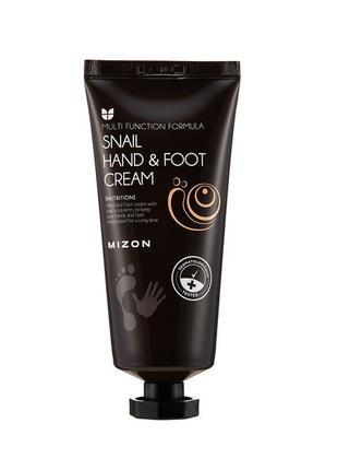 Крем для рук и ног с муцином улитки Mizon Snail Hand And Foot ...