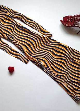 Базовое длинное платье миди warehouse