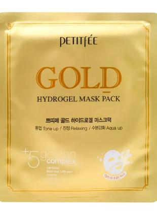 Гидрогелевая маска для лица с микрочастицами коллоидного золот...