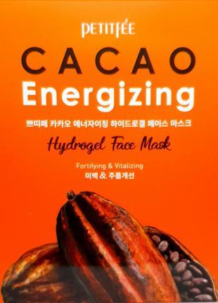 Тонизирующая гидрогелевая маска для лица с какао Petitfee Caca...
