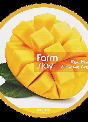 Крем для лица и тела с экстрактом манго Farm Stay Real Mango A...