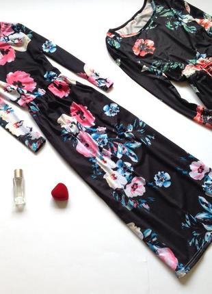 Платье длинное миди для девочки 9 - 10 лет для мамы и дочери, ...