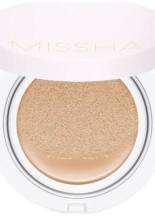 Увлажняющий тональный кушон Missha Cushion Moist Up SPF50+/PA+...