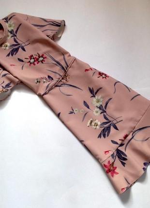 Платье с цветочным принтом oasis