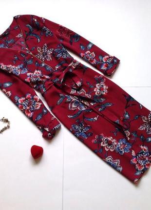 Платье с цветочным принтом bommarche