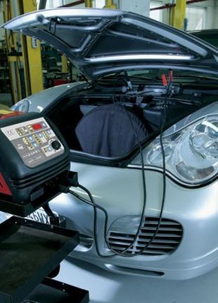 Зарядка или подзарядка автомобильных аккумуляторов.
