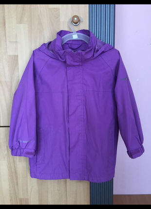Фирменная куртка ветровка дождевик regatta 104 см.