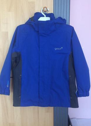 Фирменная куртка ветровка gelert 110-116 см.