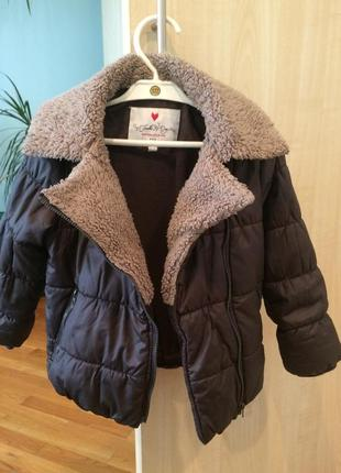 Демисезонная куртка fumble 104 см. еврозима