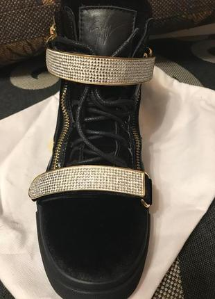 Zanotti суперстильные ботинки