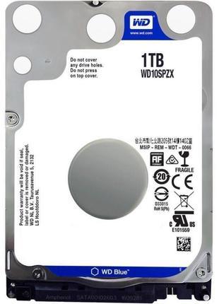 HDD 2.5 Western Digital Blue 1TB 5400rpm 128MB WD10SPZX 2.5 SATA3