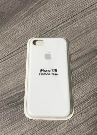 Чехол на айфон 7/8 siliconе case