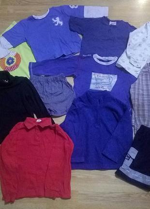 Комплект,пакет одежды, вещей мальчику 3-4 года.11 шт.