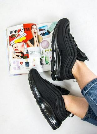 36 37 38 39 40 женские кроссовки nike air max 97 full black